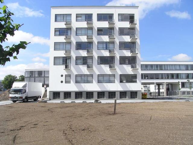 Die Gästezimmer im Bauhaus Dessau