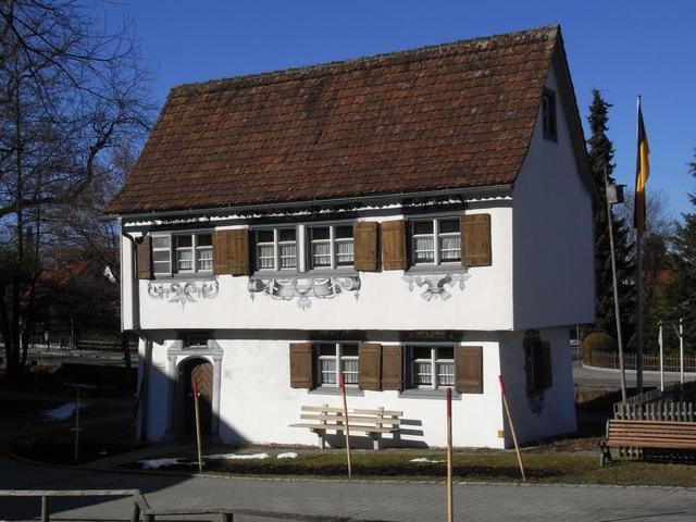 Gartenhaus vorm Kurhaus in Isny