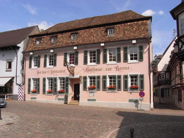 Das Gasthaus zur Kanne in Deidesheim