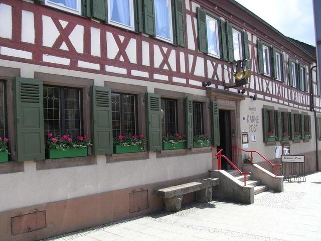 Kanne - Post in Knittlingen