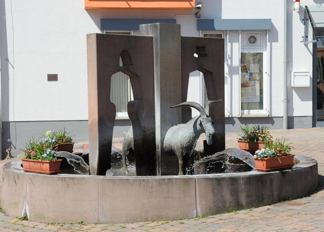Der Geißbock-Brunnen