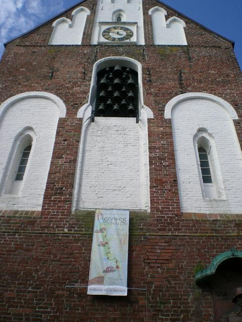 Glockenturm der Ludgeri-Kirche in Norden
