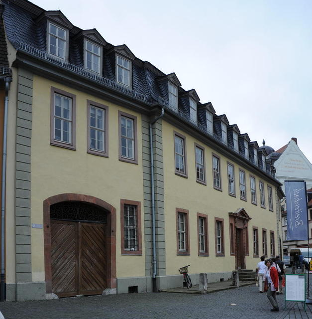 Das Goethe Haus in Weimar