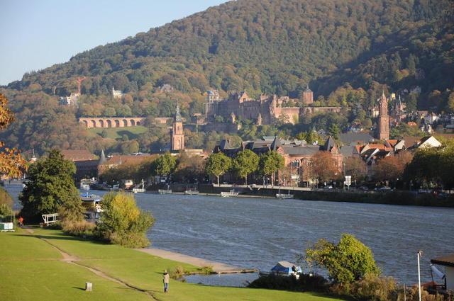 Blick aufs Heidelberger Schloss