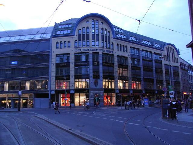 Die Hackeschen Höfe in Berlin