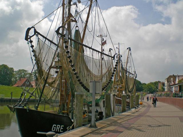 Hafenpromenade Greetsiel