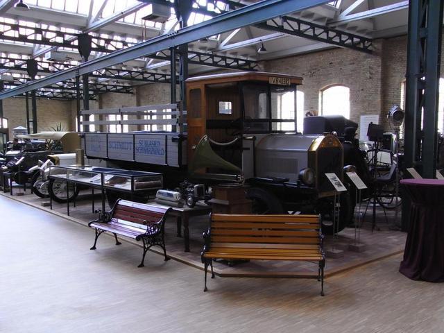 Die alte Werkalle Dr. Carl Benz