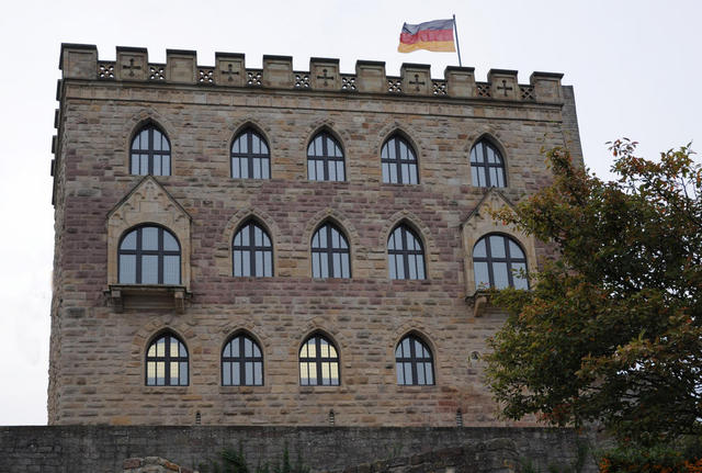 Fassade Hambacher Schloss