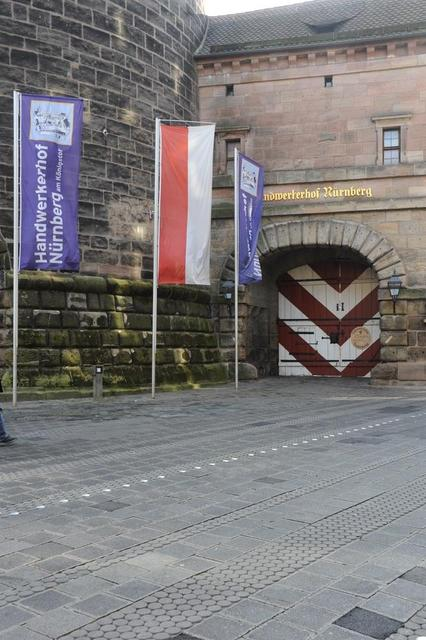 Der Handwerkerhof in Nürnberg