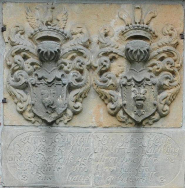 Inschrift von 1621