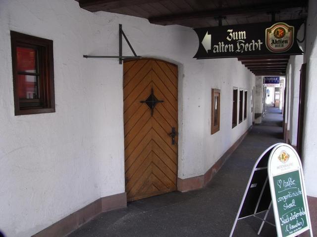 Zum alten Hecht in Isny