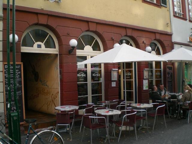 Das Hard Rock Café in Heidelberg