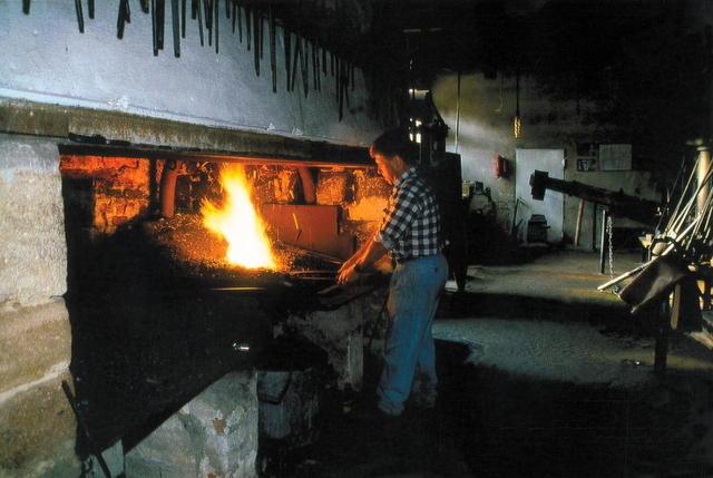Das Museum Historischer Eisenhammer in Eckersmühlen bei Roth