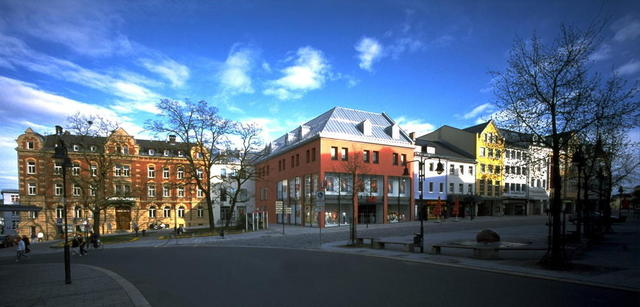 Die Altstadt von Hof