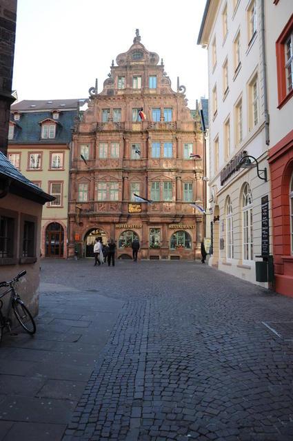 Das Hotel Ritter in Heidelberg