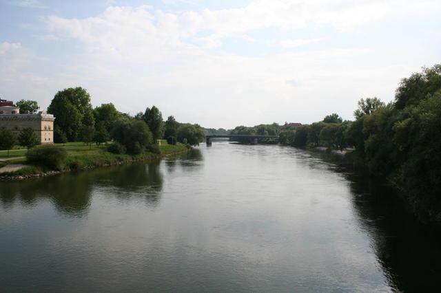 Donau in Ingolstadt