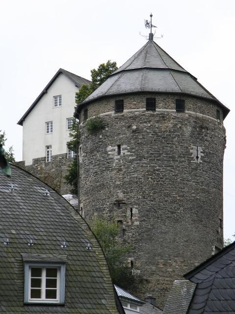 Turm der Burg Monschau