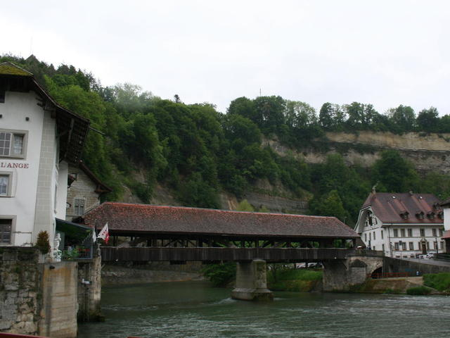 Bernbrücke in Freiburg (CH)