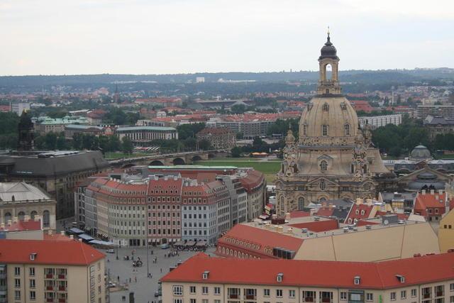 Innenstadt mit Frauenkirche