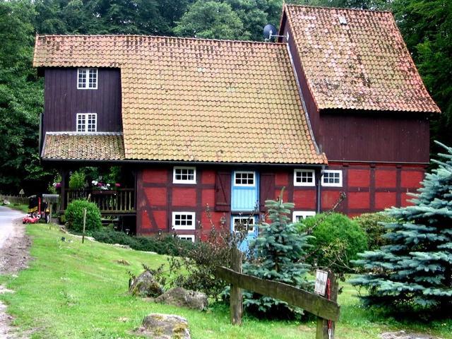 Wassermühle in Rutenmühle