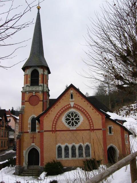 Kirche in Triberg