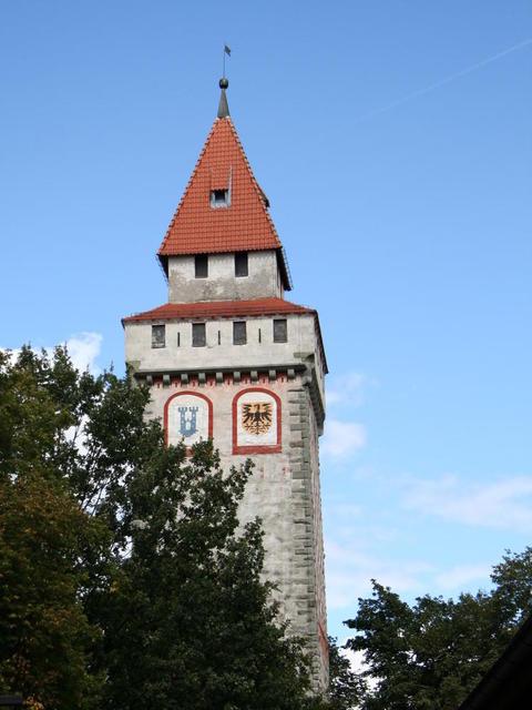 Der gemalte Turm in Ravensburg