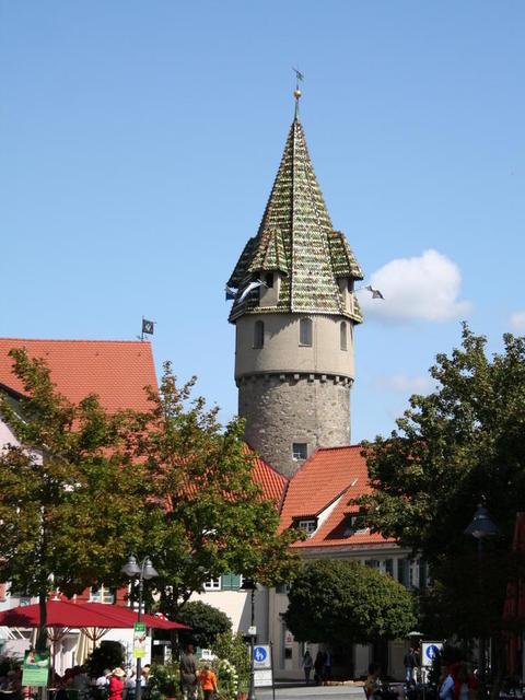 Der grüne Turm in Ravensburg