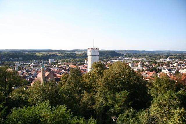 Blick über Ravensburgs Altstadt