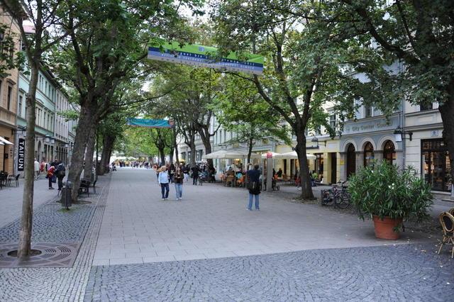 In der Schillerstraße von Weimar