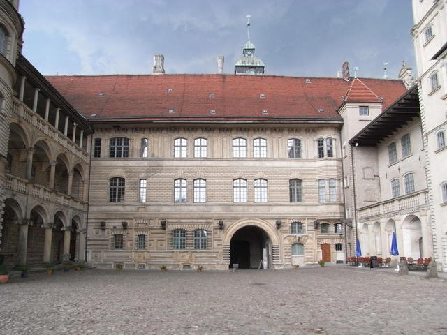 Der Innenhof von Schloss Güstrow