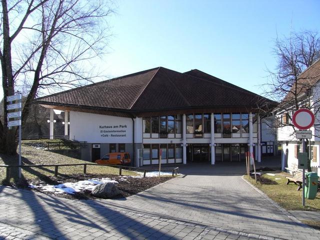 die Isny Marketing GmbH im Kurhaus