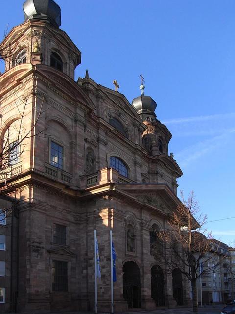 Front der Jesuitenkirche