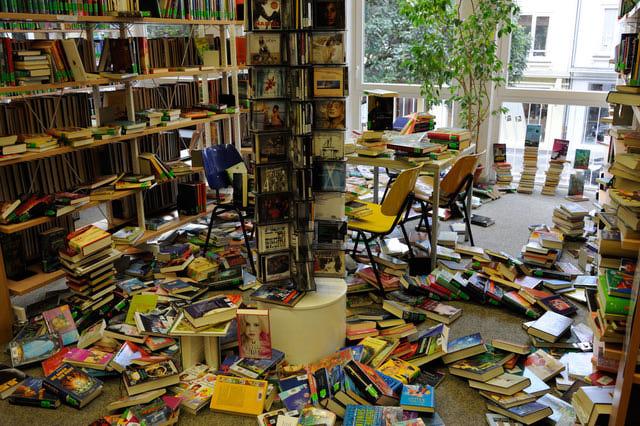 Kunst in der Jugendbücherei in Kassel