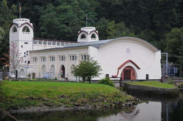 Das Kraftwerk in Heimbach