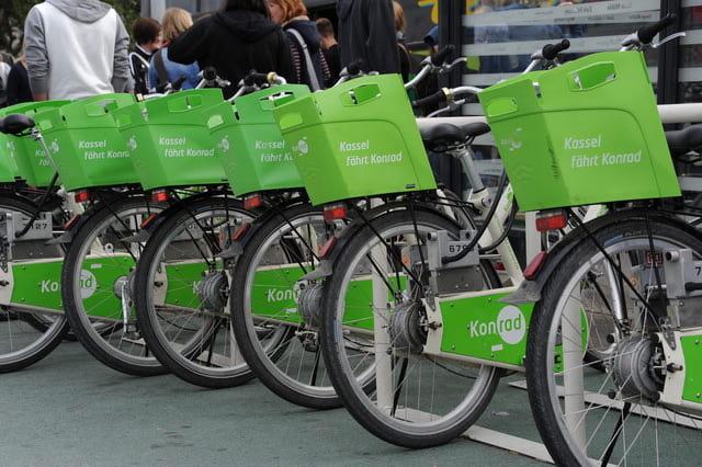 Fahrradleihe in Kassel