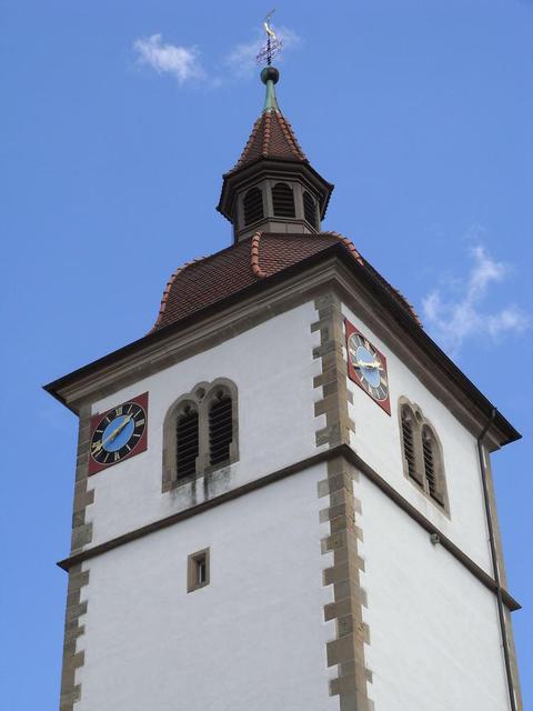Turm der St. Leonhardskirche