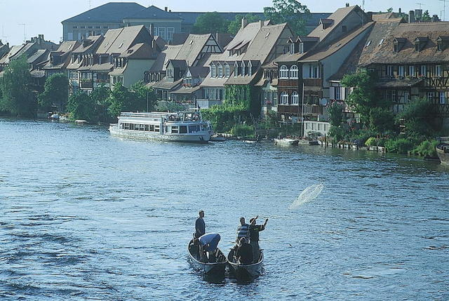 Die Fischersiedlung Klein Venedig in Bamberg