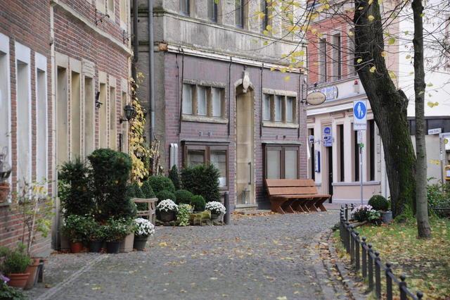 Johannikirchplatz mit Kleinem Café