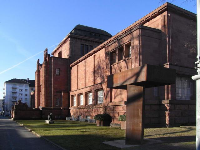 Jugenstil-Seite der Kunsthalle