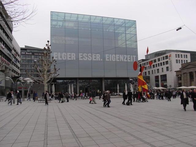 Das Kunstmuseum in Stuttgart