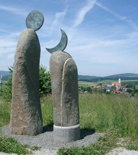 Der Kunstwanderweg in Eschlkam