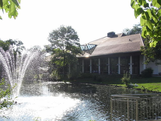 Das Kurhaus mit Kurhaus-Restaurant