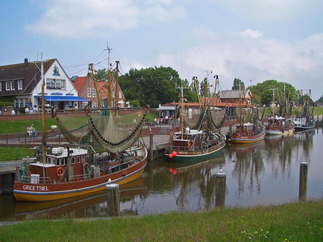 Der Hafen in Greetsiel