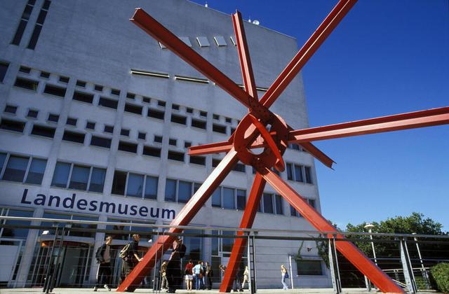 Eingang zum Landesmuseum für Technik und Arbeit