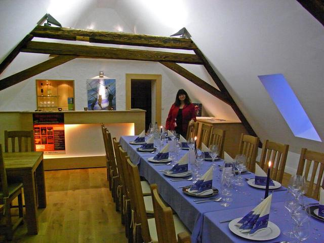 Alles bereit - die Gäste können kommen!