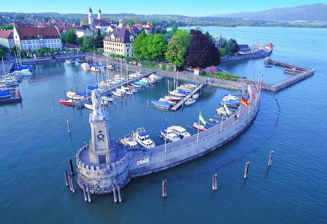 Der Lindauer Hafen