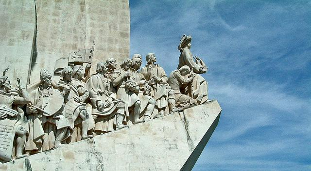 das Entdeckerdenkmal in Belem