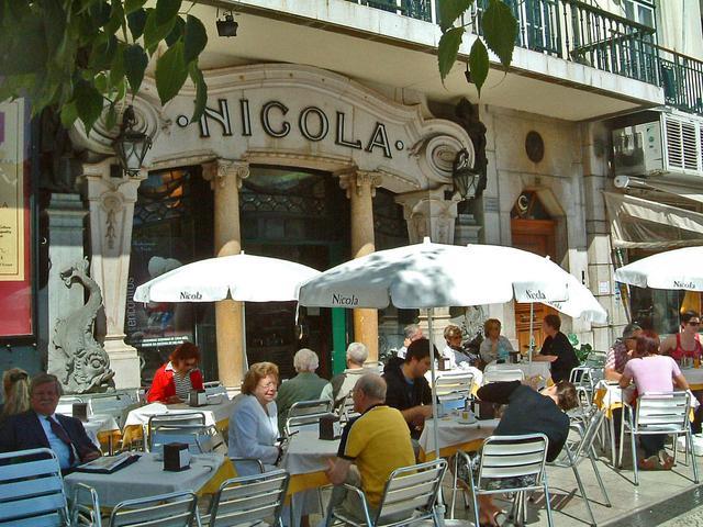Cafe Nicola auf dem Rossio