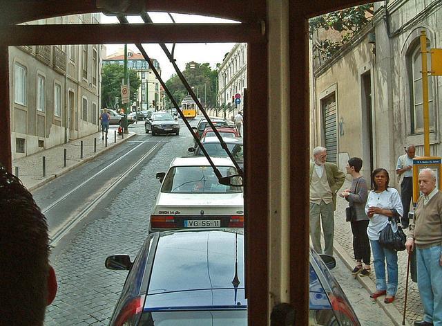 Fahrt mit der Linie 28 durch Lissabon