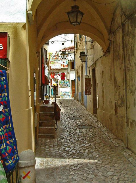 Pessoas Spaziergänge in der Altstadt